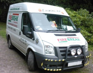 Firebreak Fire Securities Van